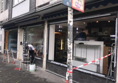 Schaufensteranlagen Reparatur